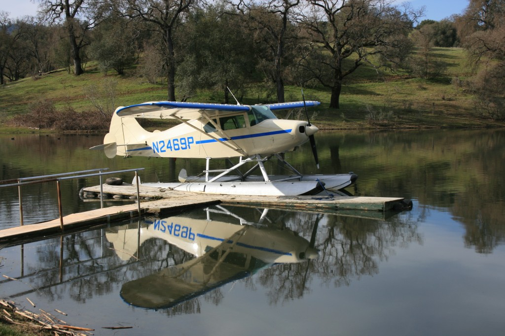 docked at the pond 2012
