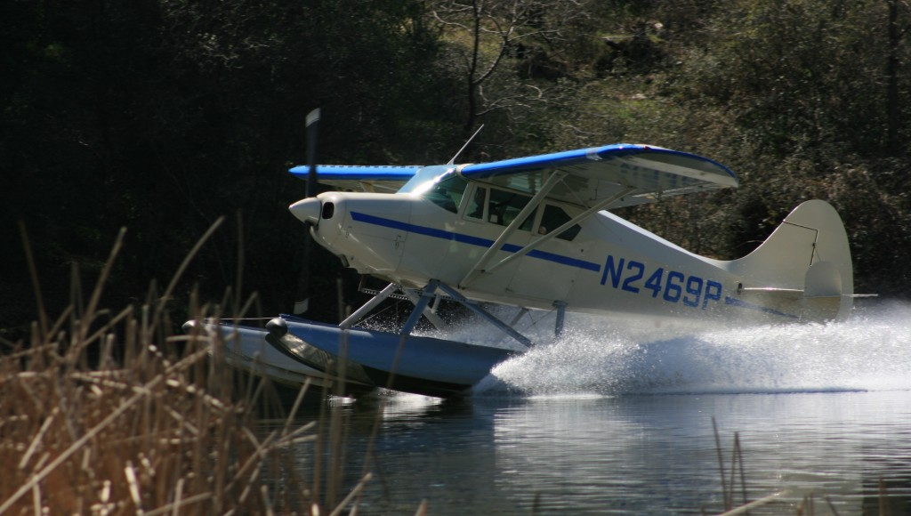 landing at the pond 2012